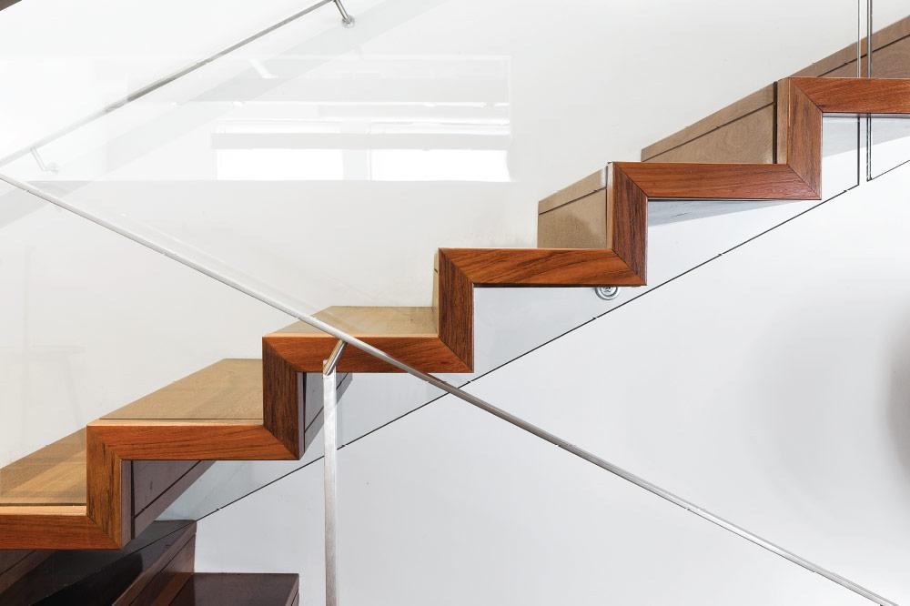 Mrail Modern Stairs Zig Zag Stairs